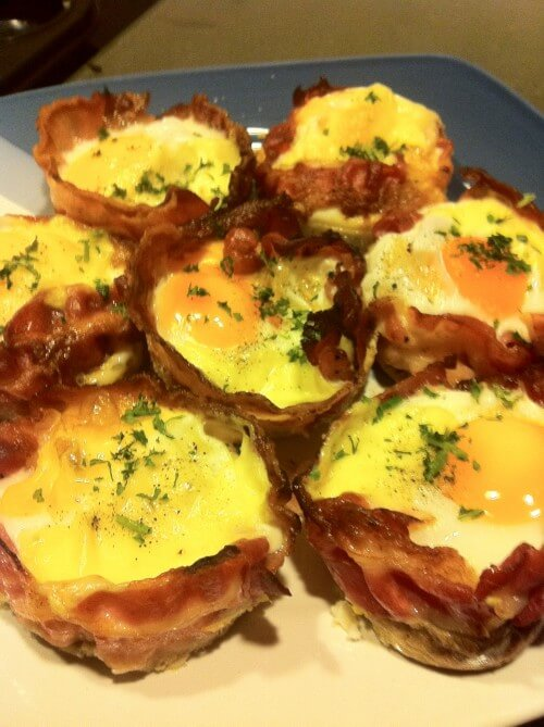 BACON EGG CHEESE MUFFINS