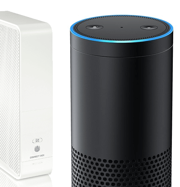 Amazon Alexa Echo mit Connect Box