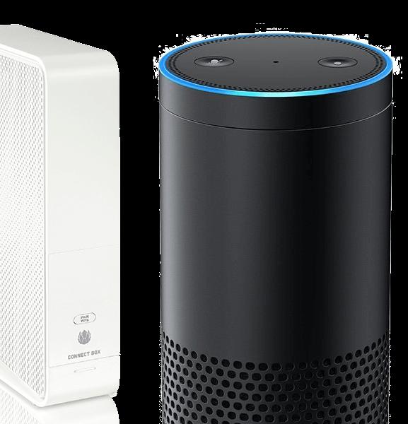 Amazon Alexa Echo mit Connect Box